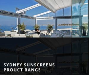 Sydney Sunscreens Product Range
