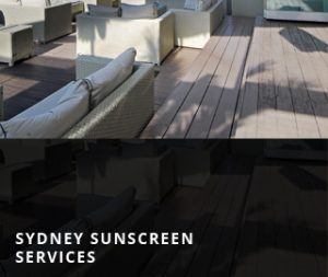 SYDNEY SUNSCREENS SERVICES